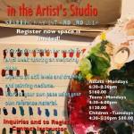Self Directed Art Class_studio May 2017