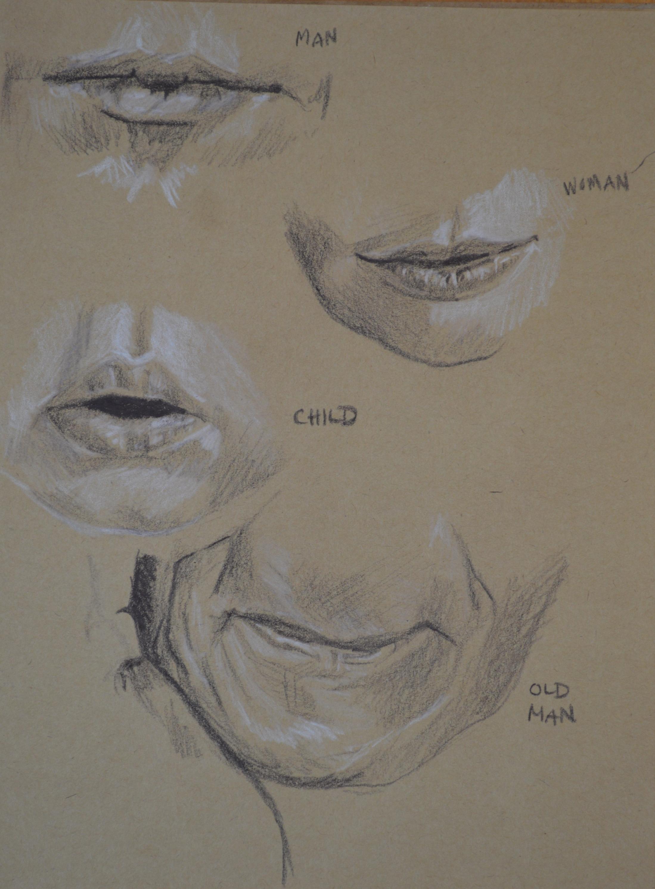 Study of lips