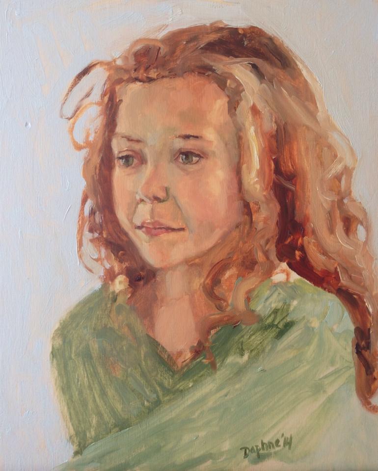 Portrait Sketch of Olina